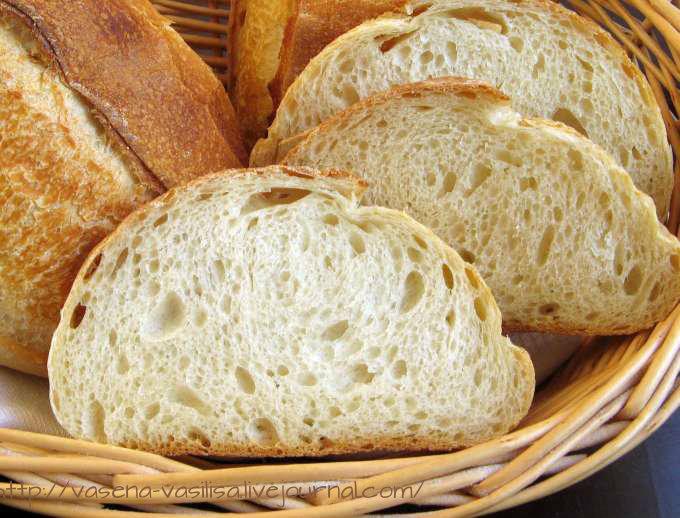 Пшеничная булка раз 1