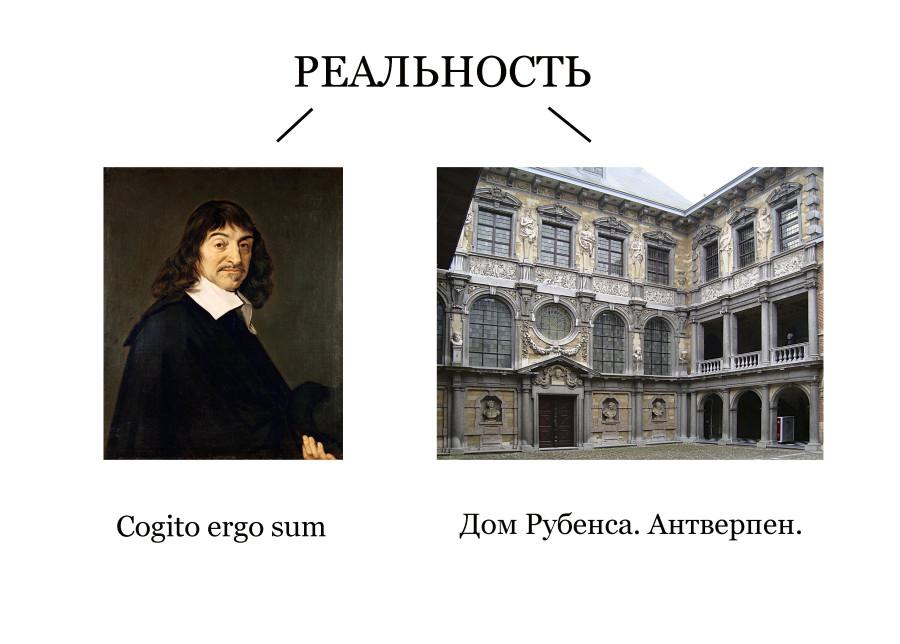 Декарт и дом Рубенса