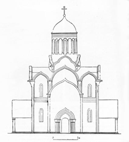 Реконструкция Н.Н.Воронина