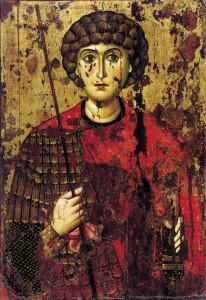 070 св. Георгий середина 11 или начало 12 века Московский Кремль