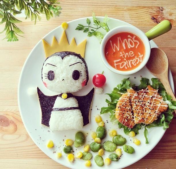Открытки из еды, красивая открытка днем