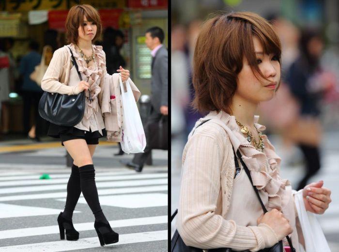 Как одеваться чтобы ты была похожа на японку, милф леди смотреть