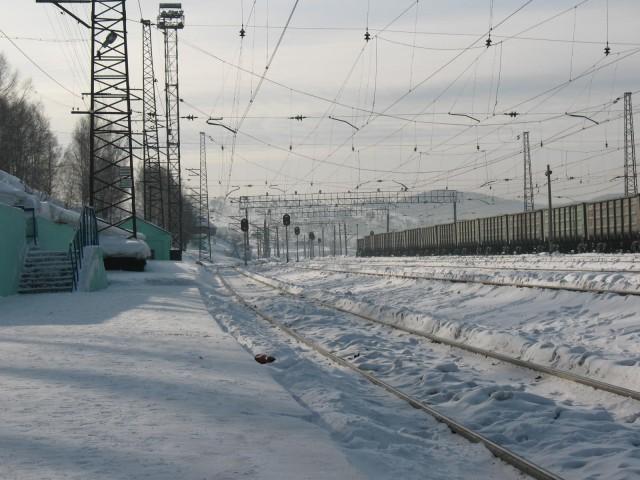 Сибирь - станция Кондома