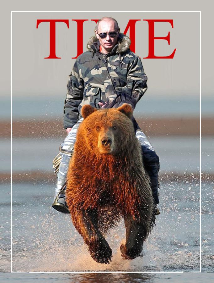 Путин прокомментировал фото верхом на медведе: Политика ...