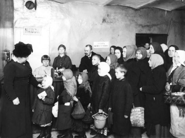 Отношение власти к голодающим при царях и большевиках