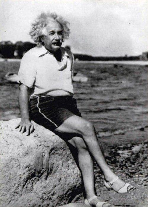 Эйнштейн в босоножках
