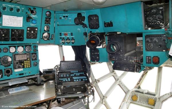 Navigator's cabin