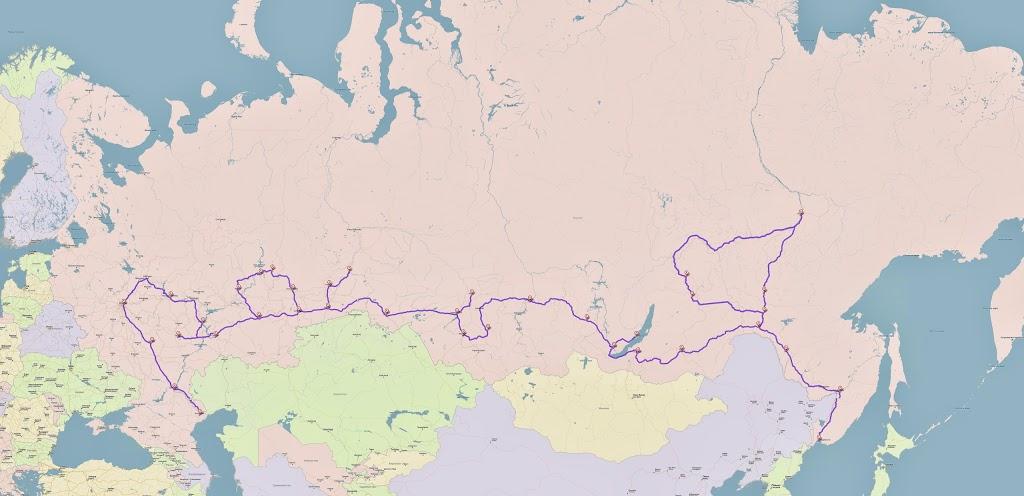 Карта большая
