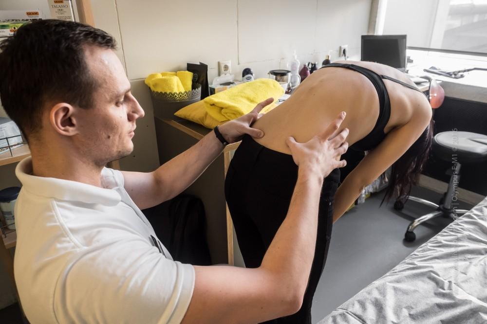 Выявление мышечных перекосов