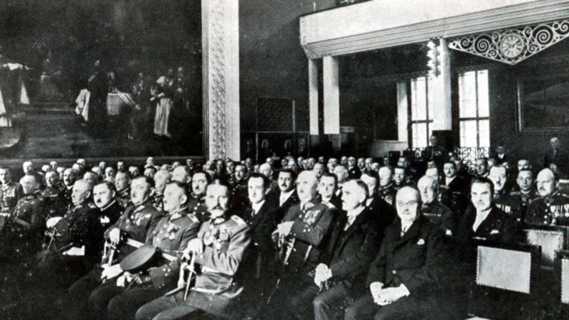 «Белгородская группа» Чешского Легиона, Прага, 1930 год (фото из книги «Belgorod»)