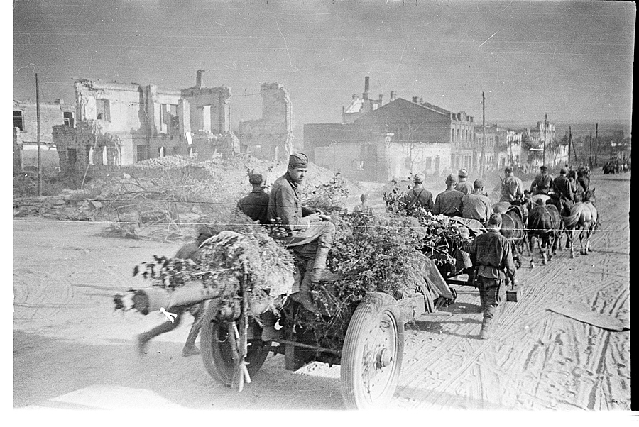 Освобождение Белгорода - август 1943 года -04