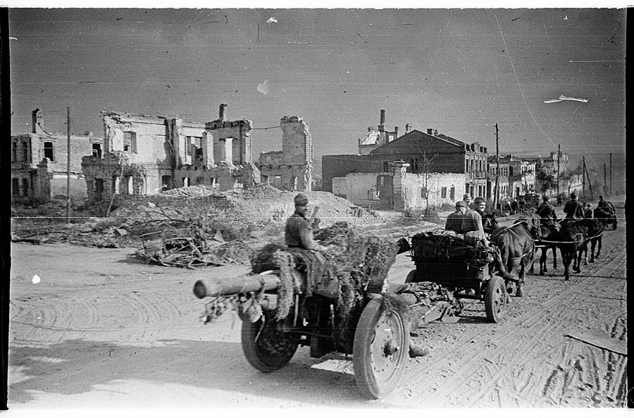 Освобождение Белгорода - август 1943 года -09