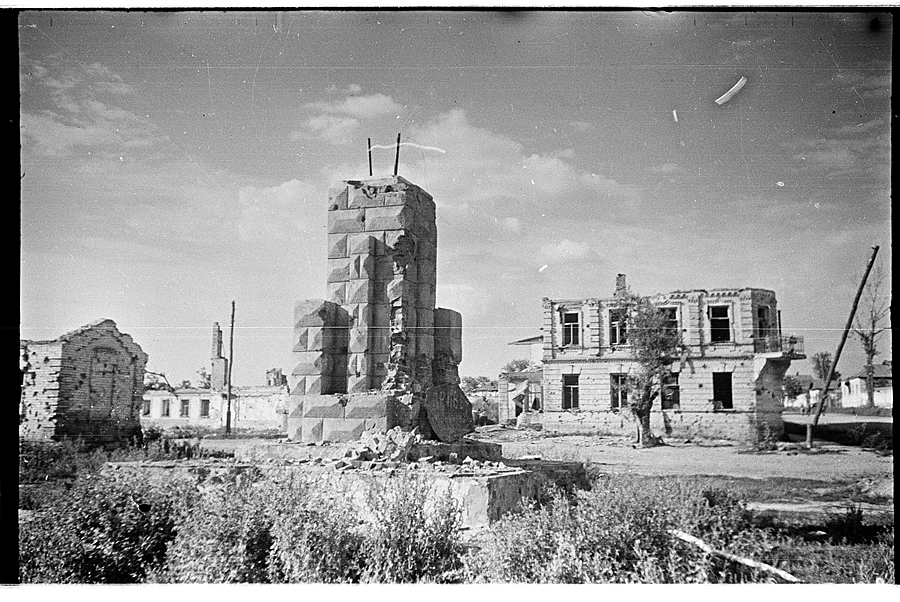 Освобождение Белгорода - август 1943 года -11