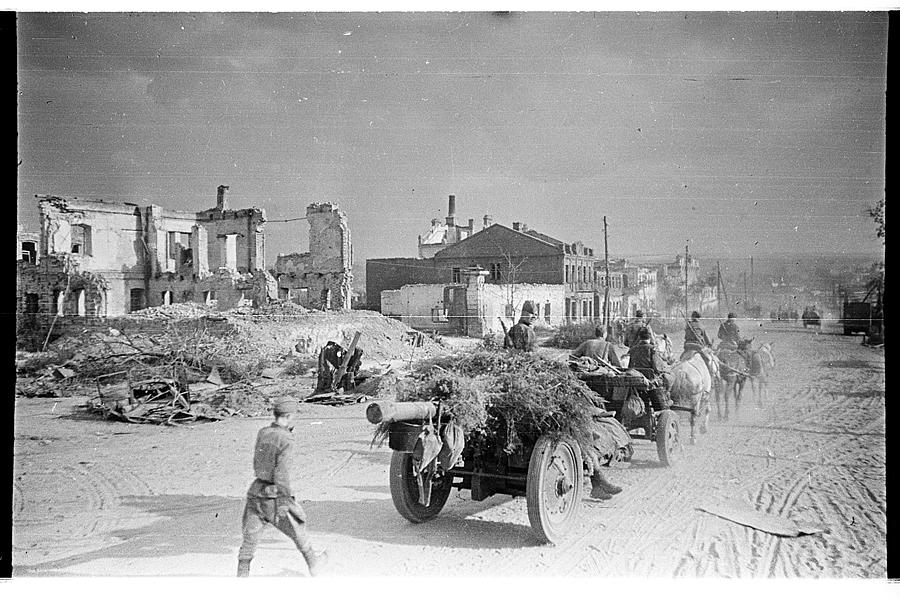 Освобождение Белгорода - август 1943 года -12