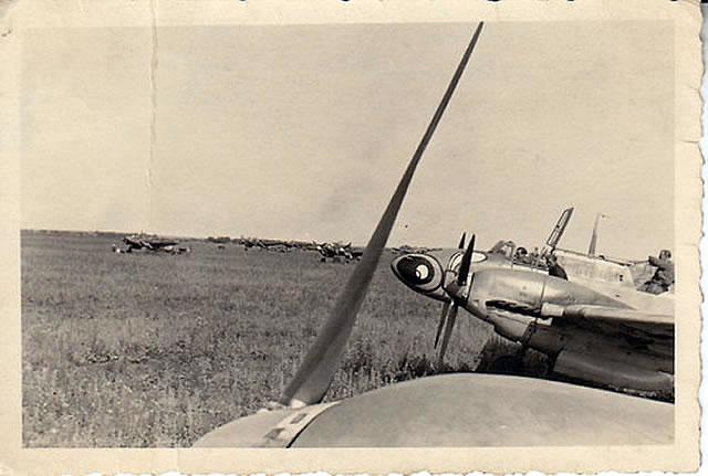 Luftwaffe Flugzeug Me 110 E 3./ ZG 1 Bjelgorod 05-06-1942