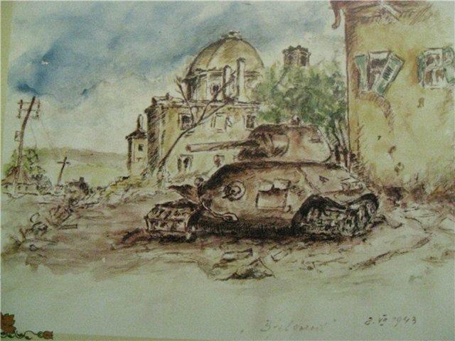 Белгород, 2 июля 1943 г. Покровская церковь