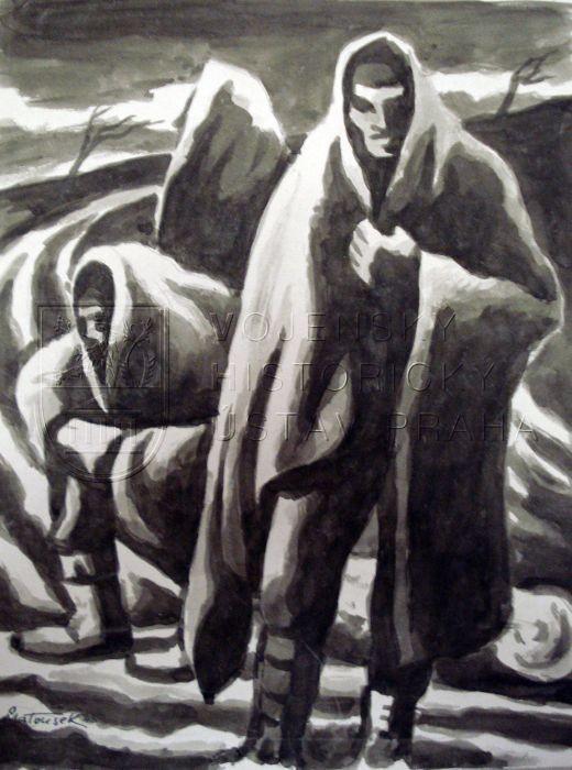 Ota Matousek - Zastavka-na-pochodu-smrti-1945