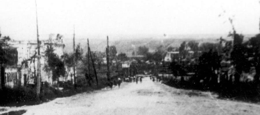 Белгород - Богданка, вид на Супруновку и Харгору в июле 1943