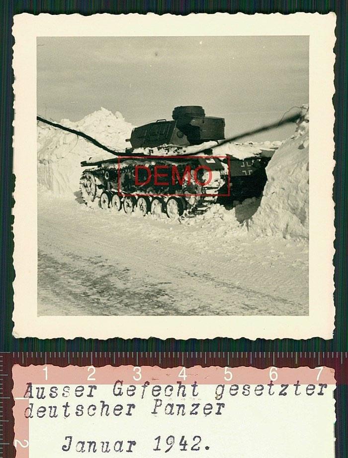Panzer. Januar 1942. Белгород-Обоянь