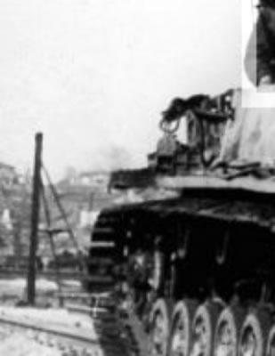 Белгород. Bjelgorod, März 1943 - Waffen-SS - Panzer Sturmgeschütz StuG III  auf E - zoom