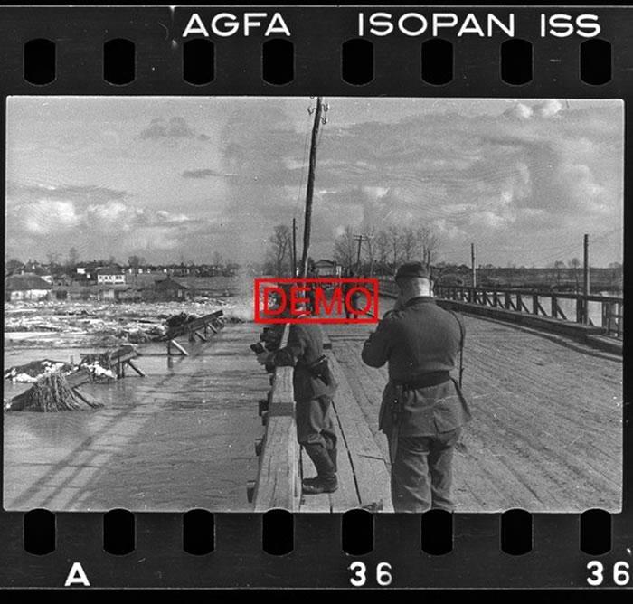 Ледоход на Северском Донце весной 1942 в Белгороде