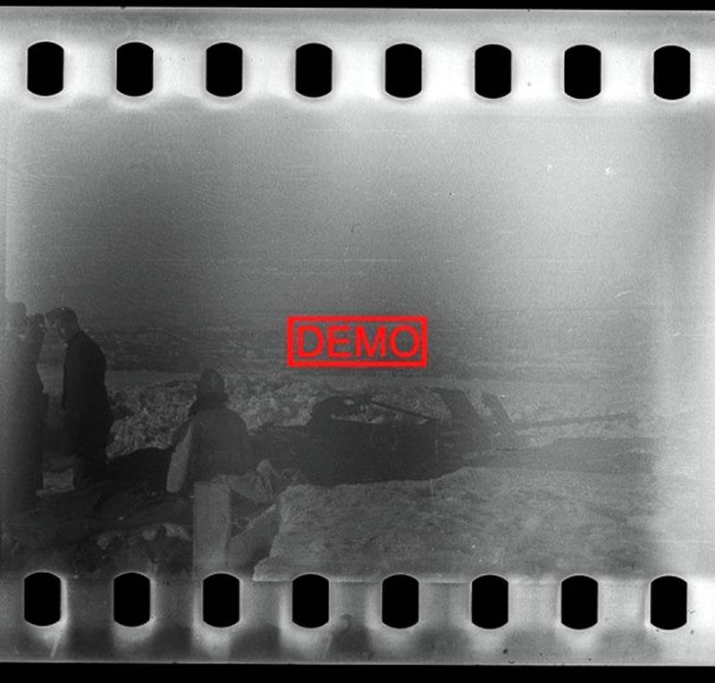 Зимний пейзаж Белгорода в начале 1942-го