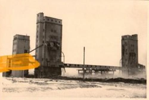 Белгород: Зернохранилище на Крейде. Ноябрь 1941 - 79.Infanterie-Division - Wehrmach. Bjelgorod, 1941