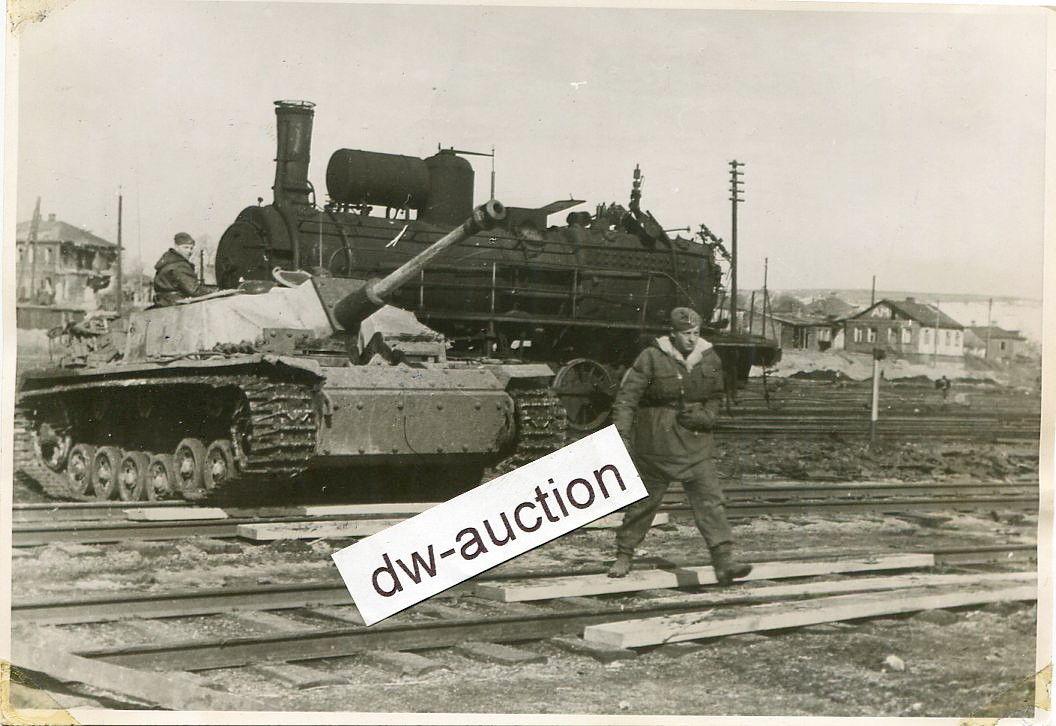Штуг в Белгороде, весна 1943. Bjelgorod, LSSAH