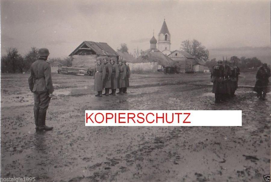 Крестовоздвиженская церковь на Кашарах в Белгороде, 1942 Bjelgorod