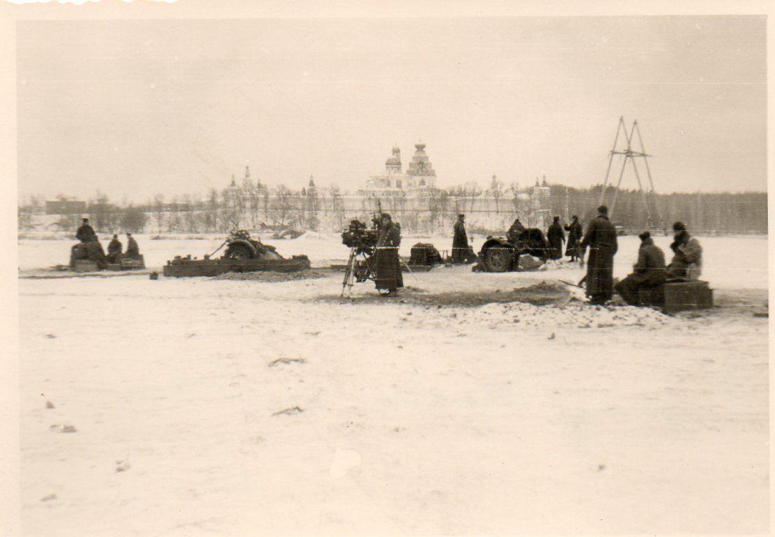 Anfang Dezember 1941 in Istra. Russischen Kloster Neu-Jerusalem, Kirche