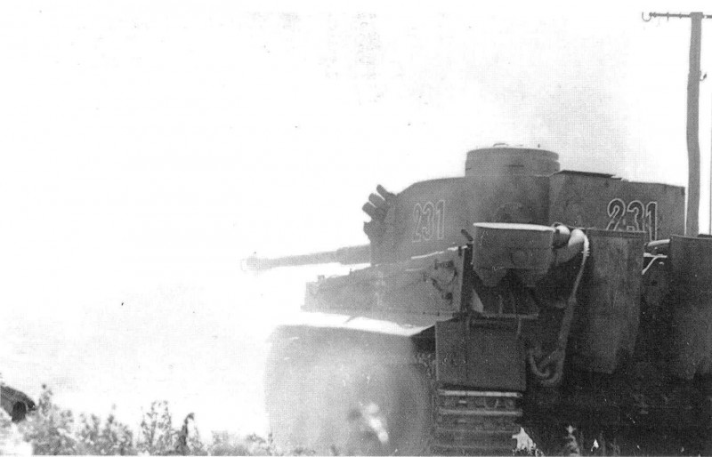 Wolfgang Schneider, Тigers in combat I - 2./s.Pz.Abt.503 #231