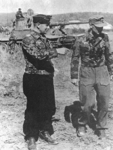 Oberstleutnant Adelbert Schulz - Ssolomino bei Bjelgorod, Russland - 5 juli 1943
