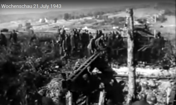 Сборный танковый мост - Die Deutsche Wochenschau #672 -21 Juli 1943
