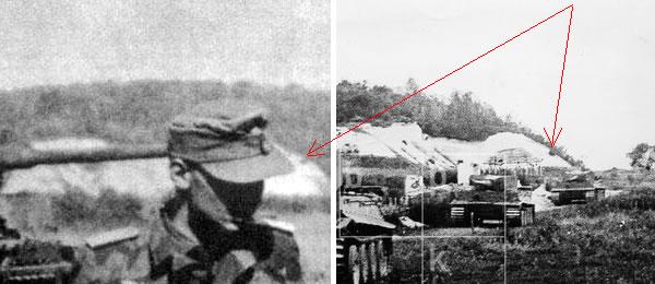 Меловой отрог у Соломино под Белгородом, 5 июля 1943