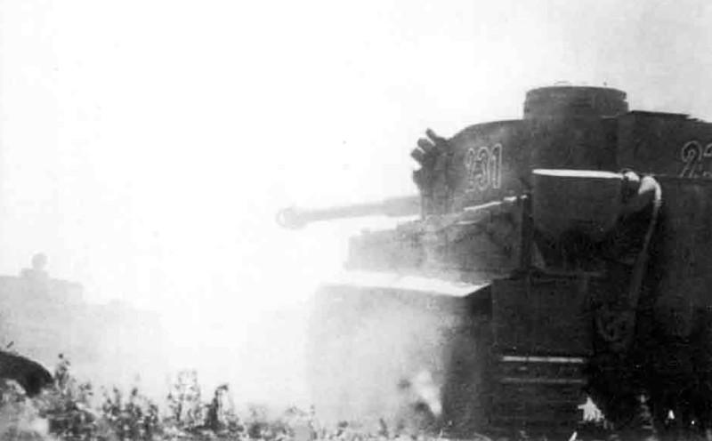 Rolf Hinze - Die 19.Panzer-Division 1939-1945 р.153 - 2./s.Pz.Abt.503 #231, #221, #211
