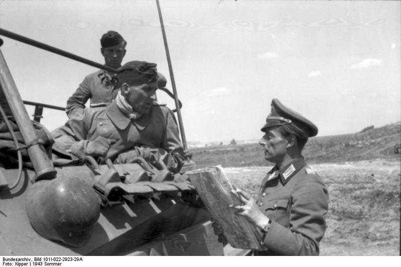 6.Panzer-Division в долине реки Разумной у Беловского 7 июля 1943