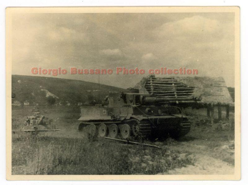 Bjelgorod 5.07.1943 Panzer-tank Tiger 221
