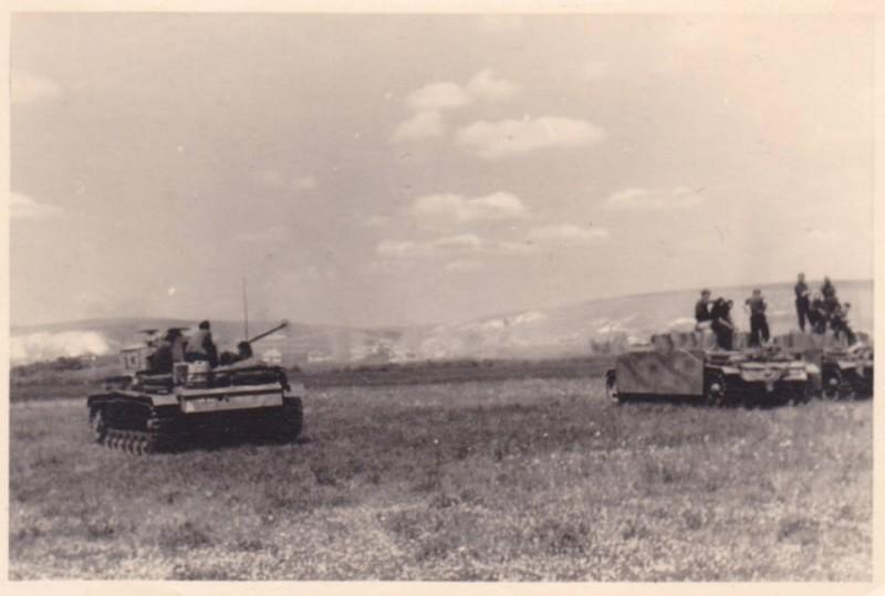 6.Panzer Division у села Севрюково 7 июля 1943