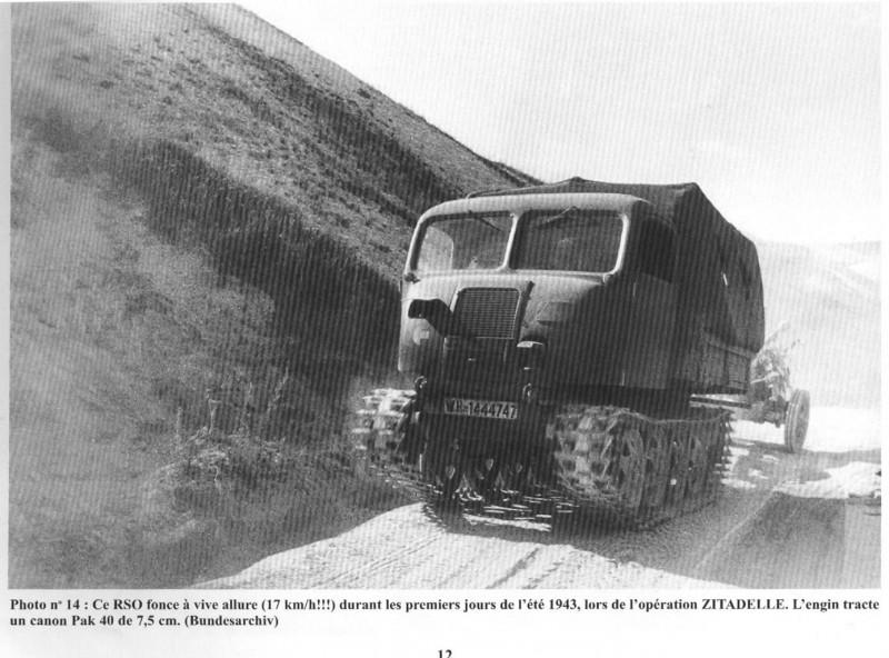 Militar's Kits Hors Serie No 2 - Raupenschlepper Ost (RSO) - operation Zitadelle 1943, RSO WH-1444747