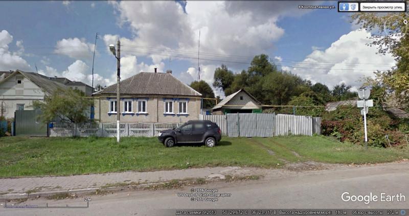 Весёлая Лопань Белгородской области - домик напротив тоннеля, 2013.jpg