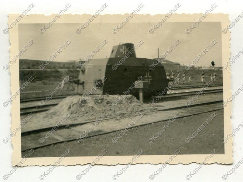 Бронепоезда  около Cумского вокзала Белгорода, 1942 - Bjelgorod, Russland