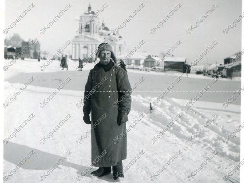 Kirche in Belgorod, Russland 1943