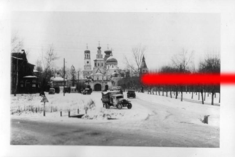 Photoalbum of SS Division Das Reich: Istra - 38 km vor Moskau, 1941