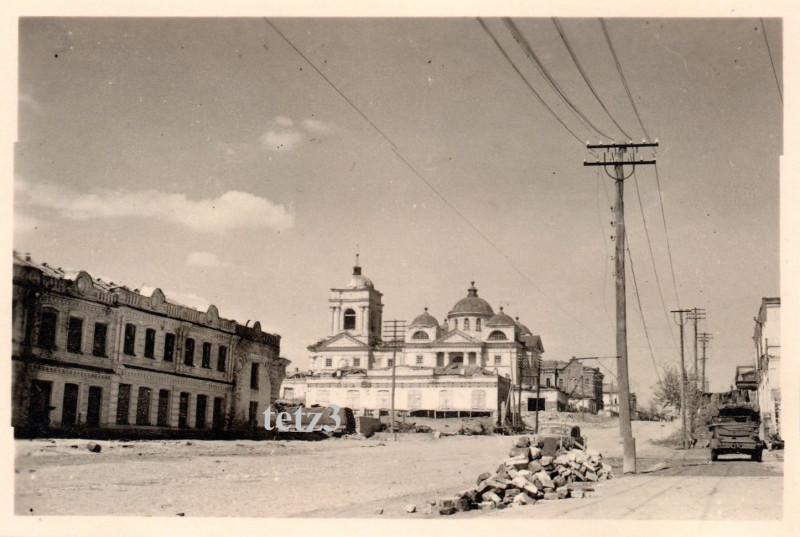 Белгород, ул.Попова (Пионерская), , Преображенский собор - лето 1943