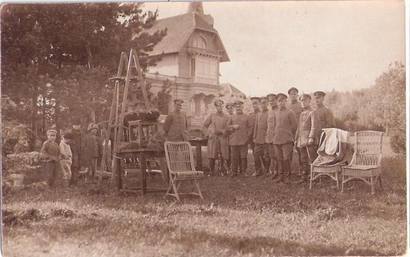 Усадьба Мухановых в с.Долбино под Белгородом во время Украинской державы П.Скоропадского в 1918 году