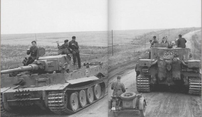 Jean Restayn - Tiger I na Vychodni Fronte: 2./s.Pz.Abt. 503, Shopino-Belgorod, July 1943