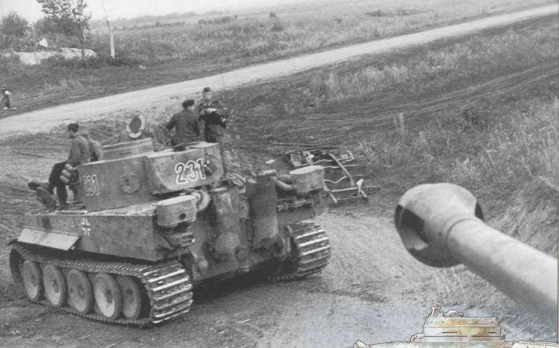 Jean Restayn - Tiger I na Vychodni Fronte