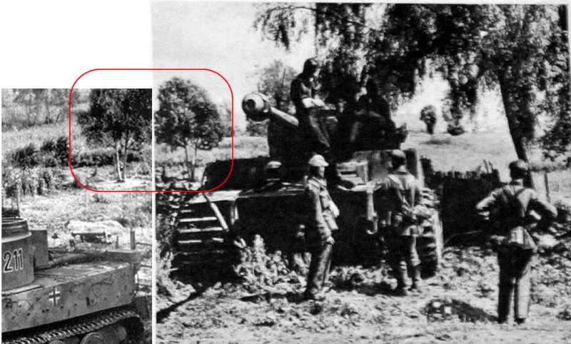 Die Wehrmacht,  September 1943. No 19 - Tiger 211 2./s.Pz.Abt.503 in Belomestnoe at Belgorod, July 1943
