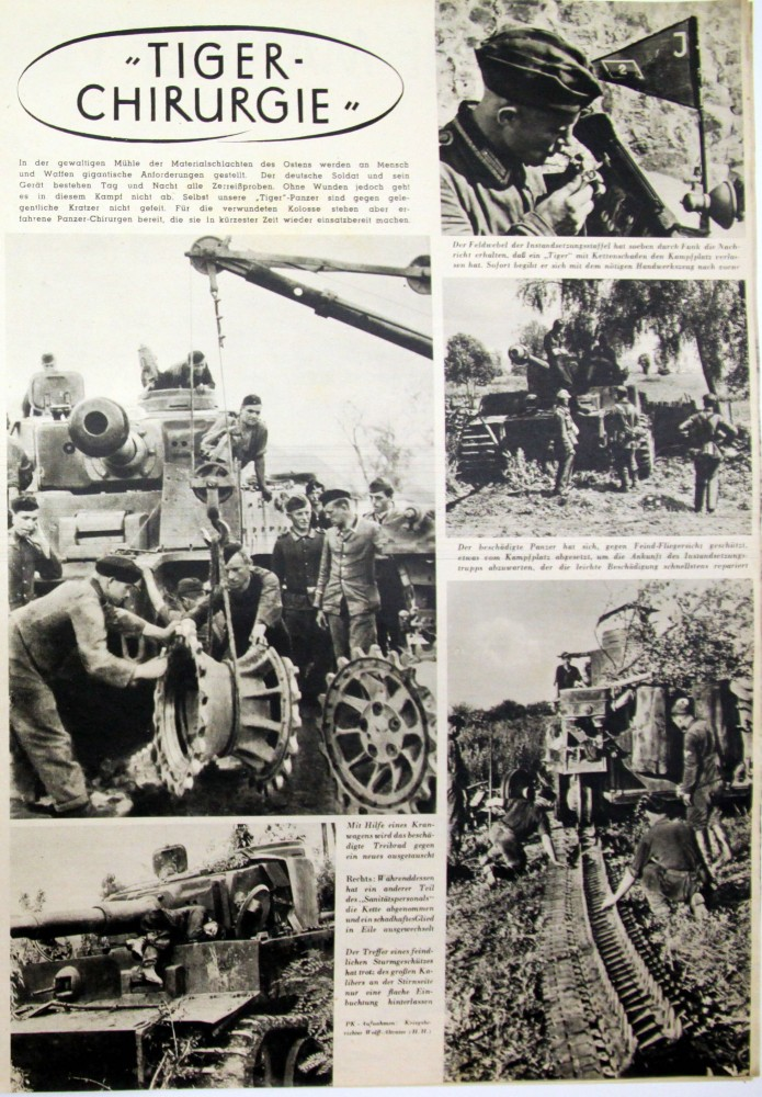 Die Wehrmacht, September 1943,  PK Wolff-Altvater
