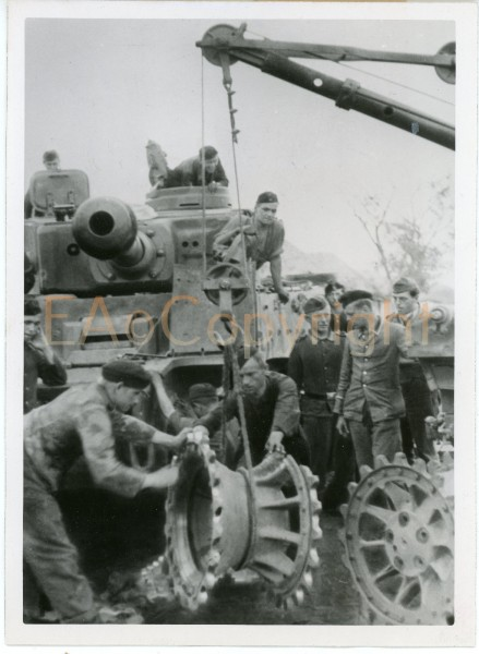 Wolff-Altvater Tiger Panzer Tank Press  Foto